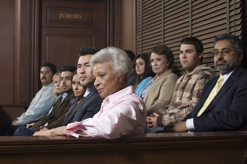 jury listening to evidence - it is generally a jury that gets to decide whether to award punitive damages in California