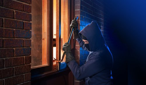 What's the difference between first- and second-degree burglary in California?