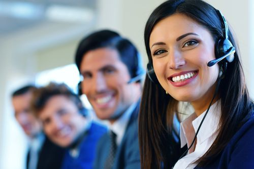 Receptionists at criminal defense law firm