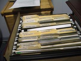 Personnel cabinet file optimized