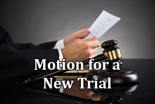 motion for a new trial