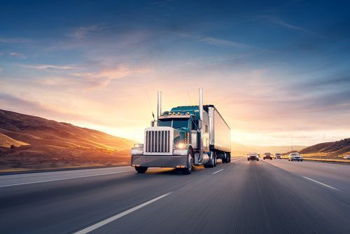 big rig on the road (how to file a truck accident lawsuit)