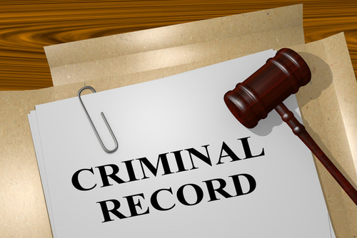 """file with title """"criminal record"""" - a rap sheet is a record of arrests and prosecutions accessibly to law enforcement agencies"""
