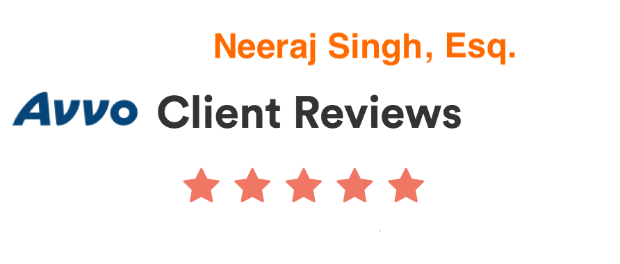 Avvo Client Reviews for Neeraj Sing